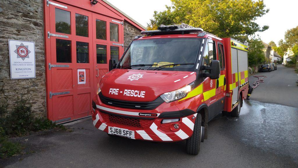 RIV fire engine