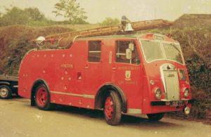 Dennis F8 Fire engine
